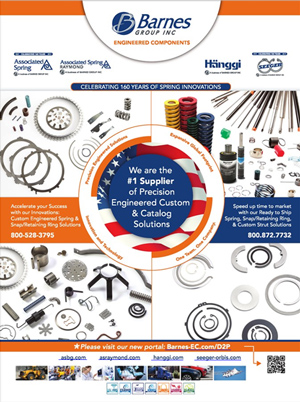 Barnes Engineered Components' D2P Advert