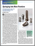 D2P Magazine Article Features Associated Spring's Pioneering Technology & Innovation